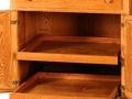 Slideout Shelves Option