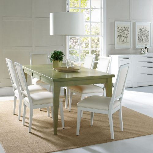 Square Back Rectangular Dining Set