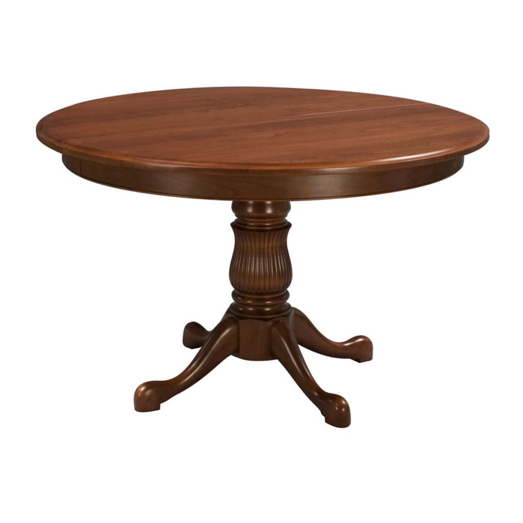 Reeded Pedestal Table