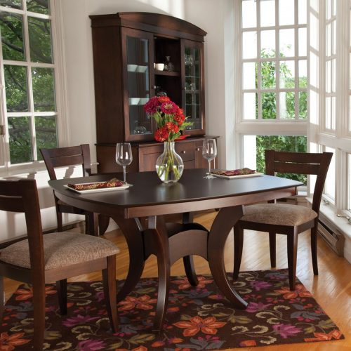 Crescent Base Dining Set