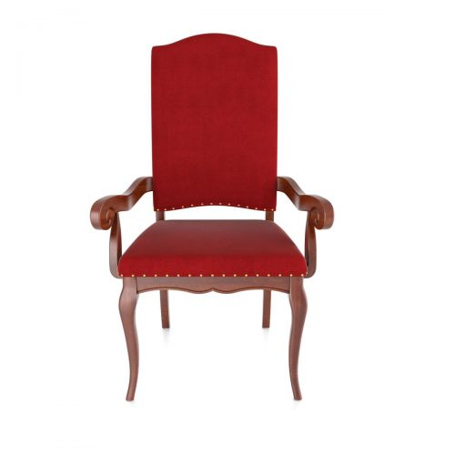 Formal Upholstered Arm Chair