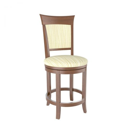 Metro Cushion Back Swivel Stool