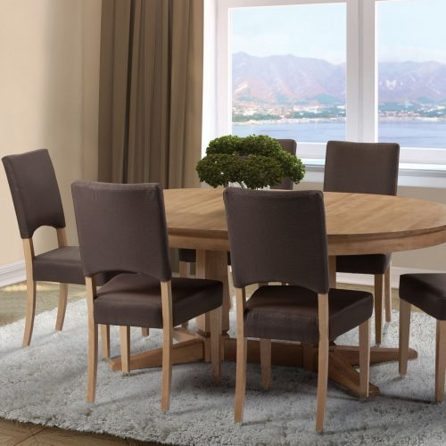 Birchwood Oval Dining Set