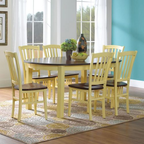 Mission Oval Dining Set