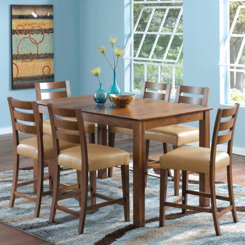 Rustic High Dining Set