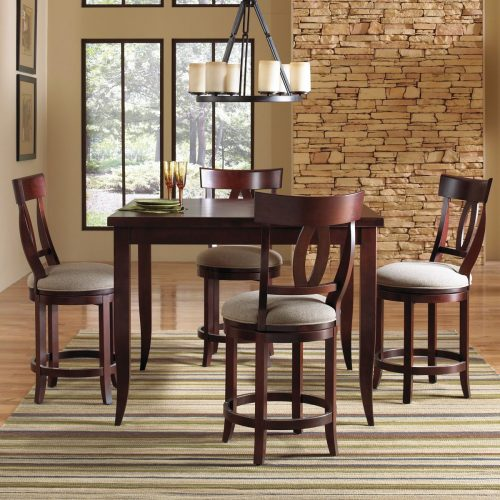 Keyback High Dining Set