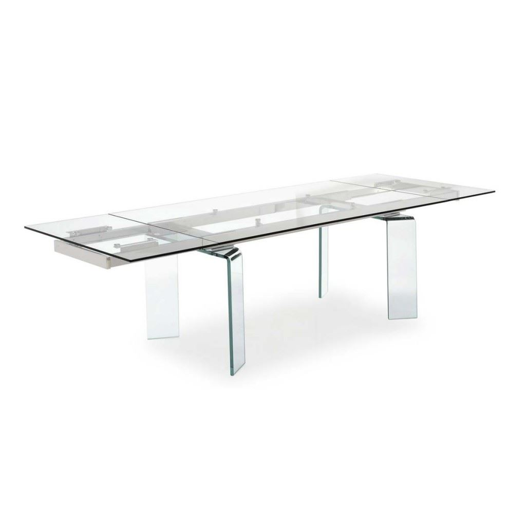 Tower Glass Dining Table
