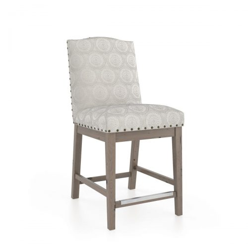 Hump Upholstered Bar Stool