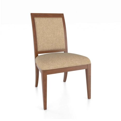 Curved Back Upholstered Chair