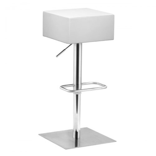 Butcher Bar Stool - White