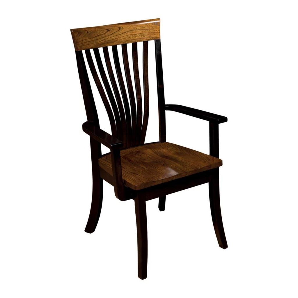 Christy Fanback Arm Chair