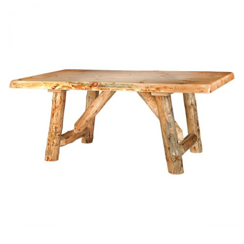 Rustic Pine Dining Table