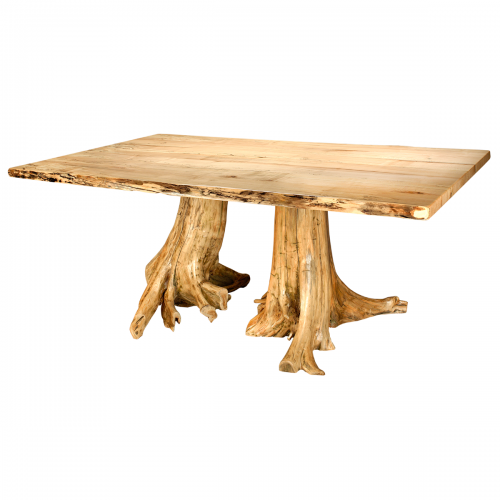 Spalted Maple Stump Table