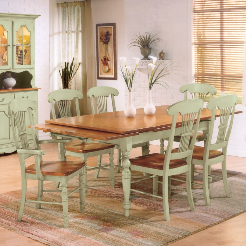 Rectangle Drawleaf Country Set