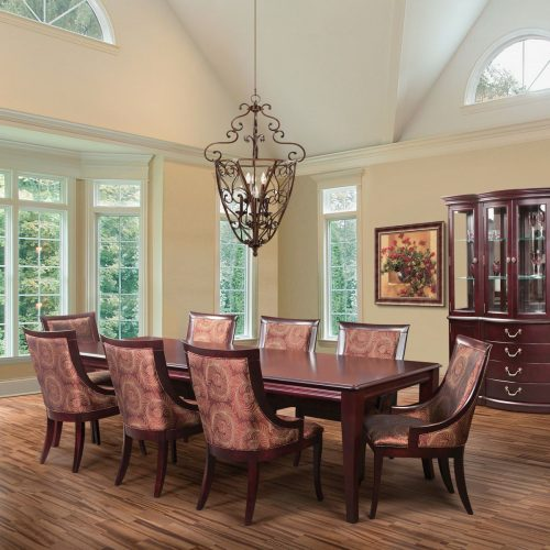 Formal 9 Piece Dining Set