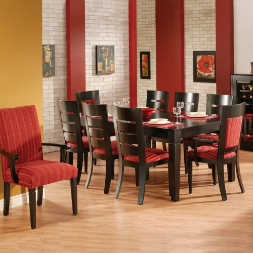 Heavy Ladder Back Dining Set