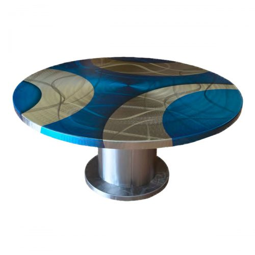 54 Inch Round Pedestal Table