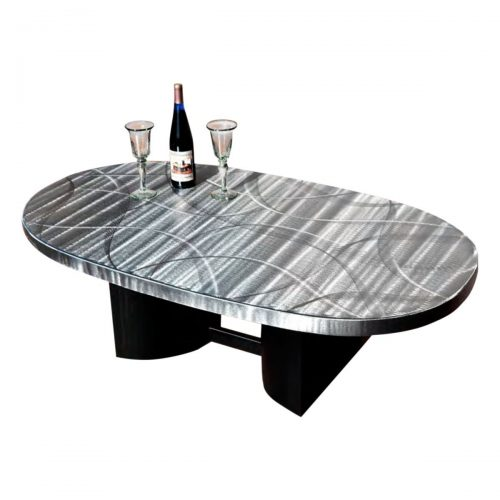 Oval Coffee Table with Viva Base
