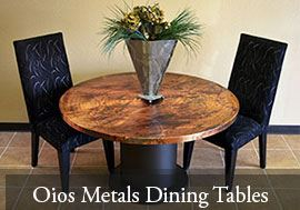 Oios Metals Dining Tables