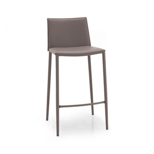 Boheme Leather Stool
