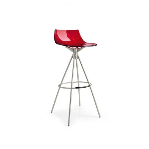 Ice Metal And Plastic Stool