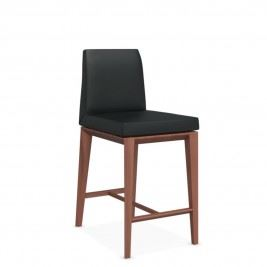 Walnut Beech-Leather Black