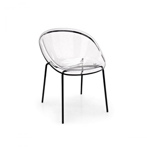 Bloom Metal And Polycarbonate Chair