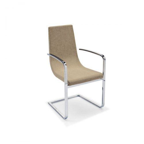 Cruiser Monoblock Chair Metal Base And Armrests