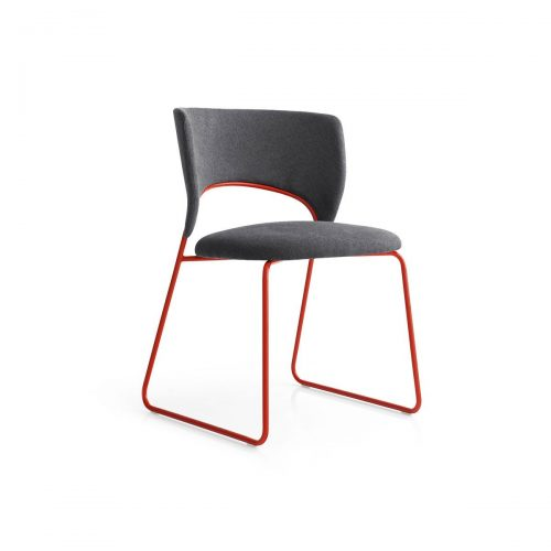 Duffy Metal Chair Large Seat