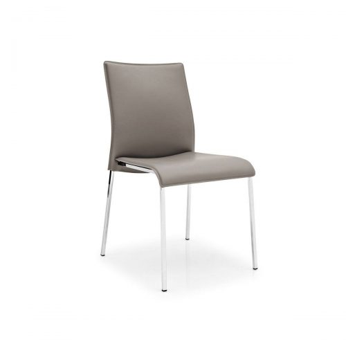 Easy Metal Chair Covered Seat
