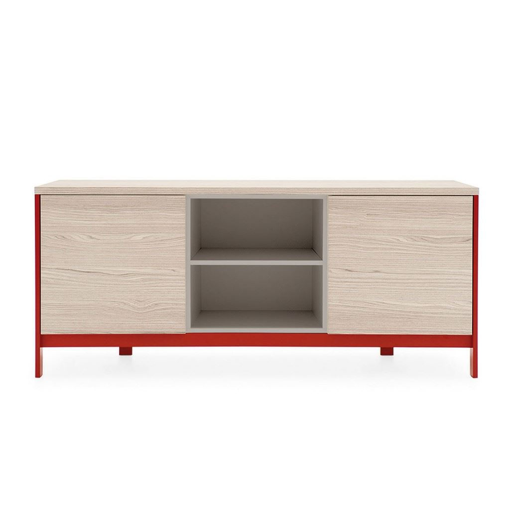 Factory Sideboard Open Compartment