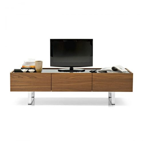 Horizon TV Bench in Wood And Metal