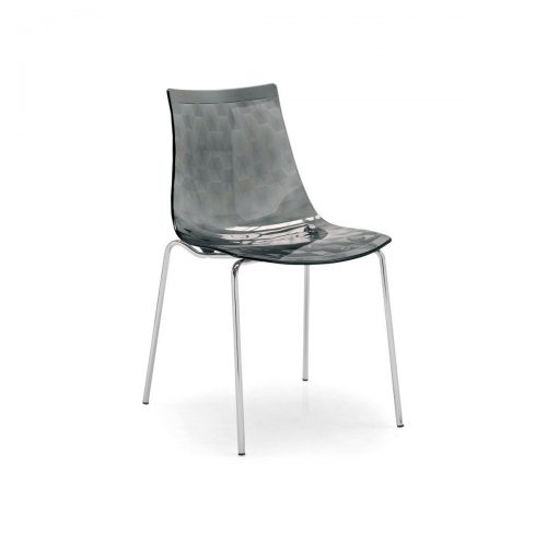 Ice Metal And Plastic Chair