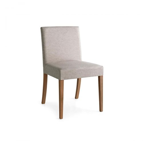 Latina Low Upholstered Wooden Chair