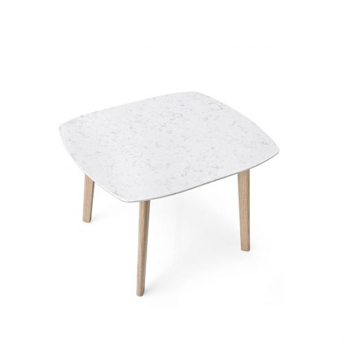 Match Small Wooden Coffee Table