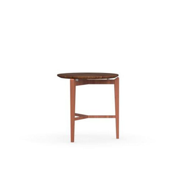 Symbol Rounded Wooden Coffee Table