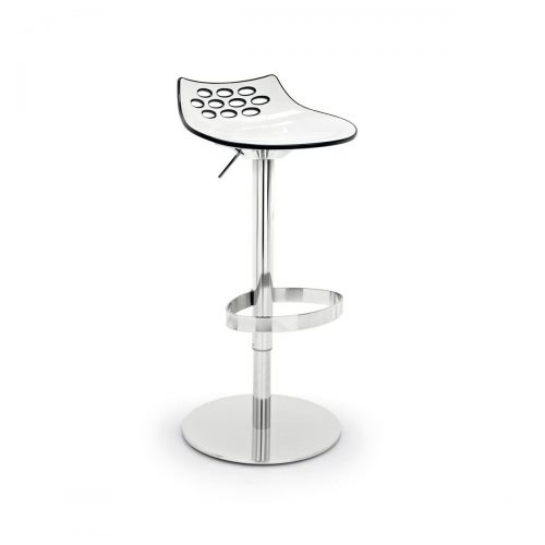 Jam Height Adjustable Plastic Stool