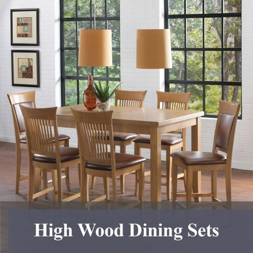 High Wood Dining Sets