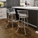 Barrel Swivel Stool Setting