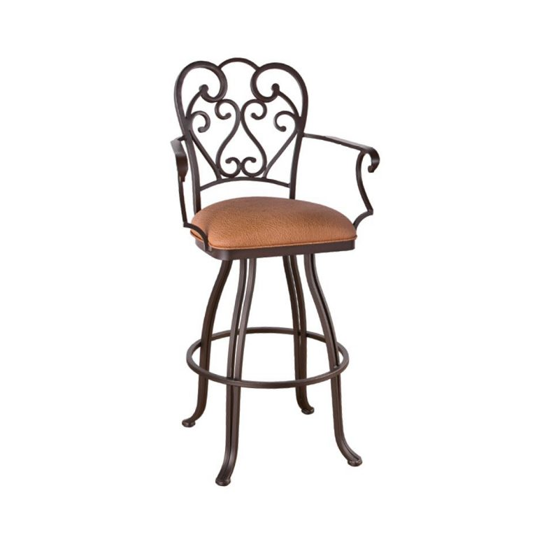 Valencia Swivel Stool with Arms
