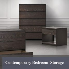 Contemporary Bedroom Storage