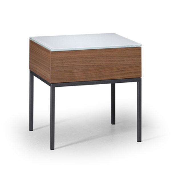 Metropolis 1 Drawer Nightstand