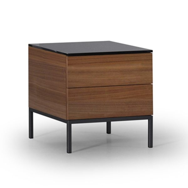 Metropolis 2 Drawer Nightstand