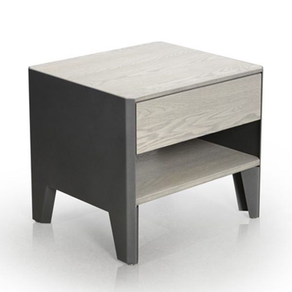 Mystere 1 Drawer Nightstand