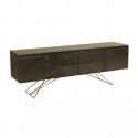 Maple Contemporary Buffet 75 With Knobs