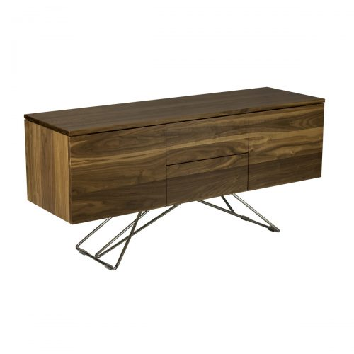Walnut Contemporary Buffet