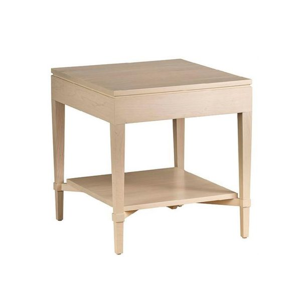 Ava Side Table With Shelf