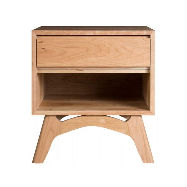Mitre 24 Inch Low Profile Nightstand