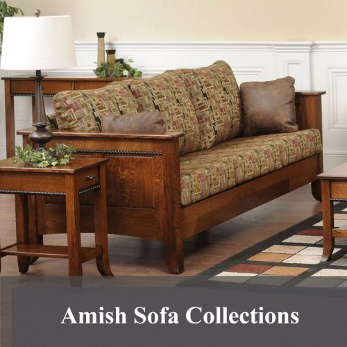 Amish Sofa Collections