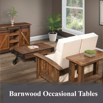 Barnwood Occasional Tables